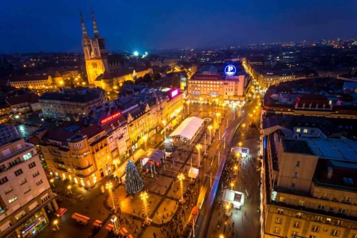 Zagreb - Ban Jelačić Square