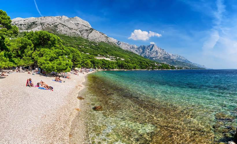 Punta Rata Beach, Brela, Makarska Riviera
