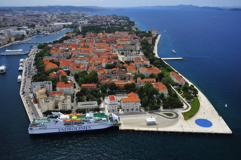 Zadar - a city of exceptional history and rich cultural heritage