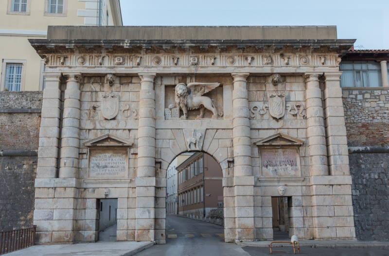Zadar - City Walls and Gates